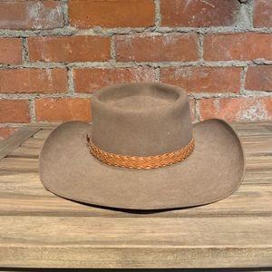 Akubra Accessories - Vintage Akubra Stockman's Fur Felt Hat Size 56